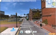 Click to start Bing Maps Boston to Provincetown
