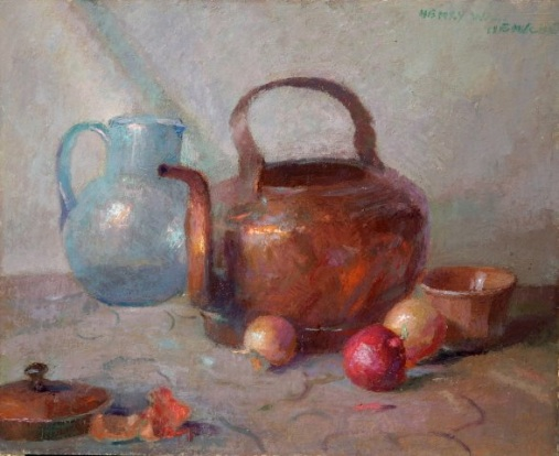 Henry Hensche Still with Copper Pot
